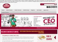 Boston City Campus's website