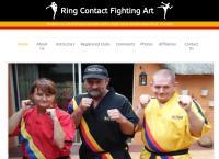 Kickboxing & Ring Contact Fighting Art Pretoria's website