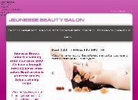 Jeunesse Beauty Salon's website