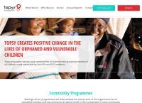 Topsy Foundation's website
