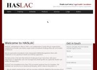 Haslac (Pty) Ltd.'s website
