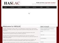 Haslac (Pty) Ltd.'s website