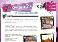 Smiths Party Hire & Kiddies Hire's website