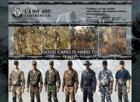Camo Joe's website