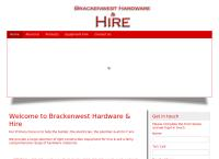 Brackenwest Hardware & Hire's website