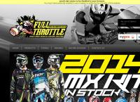 Full Throttle Motor Cycles's website