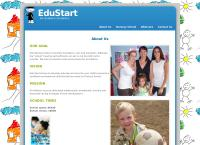 Edu Start Nursery School's website