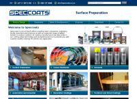 Speccoats Paint & Equipment's website