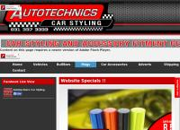 Autotechnics Car Styling's website