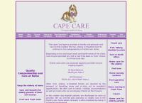 Cape Care Agency's website