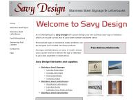Savy Design's website