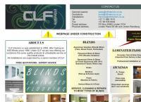 CLF Blinds's website