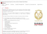 Plasticolors Masterbatch, Pigments, Liquids, and Plastic Additives's website