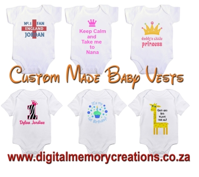 Digital memory creations johannesburg cylex profile personalized baby onesies negle Choice Image