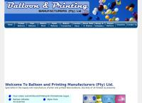 Balloon and Printing Manufacturers's website