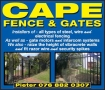 Cape Fence and Walls