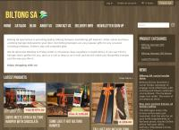 Biltong SA's website