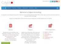 Calypso Accounting's website