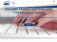 Nikann Transcription and Typing Solutions's website