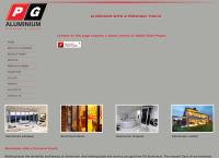 Pg Aluminium's website