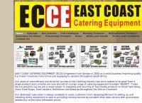 East Coast Catering Equipment's website