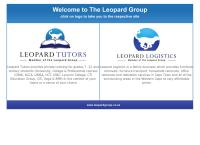 Leopard Tutoring's website
