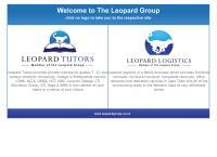 Leopard Tutoring's website