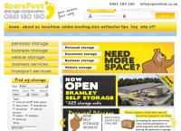 Sparefoot Storage Corporation's website