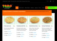 Todo Pizza - Silverton's website