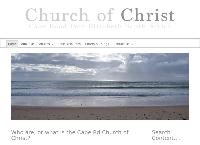 Cape Rd Church Of Christ's website