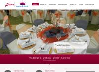 Ditiro Events and Decor's website