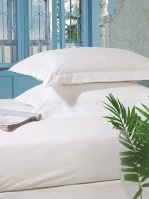 The Best Bed Linen In World 300t Satin Stripe