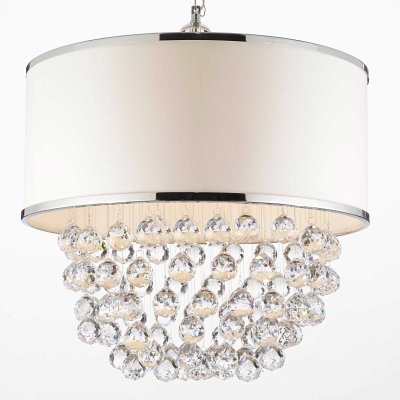 Distinct lighting johannesburg cylex profile drum shade chandelier 108 aloadofball Image collections