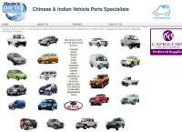 Mandarin Parts Distributors's website