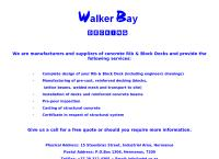 Walker Bay Decking's website