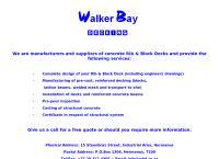 Walker Bay Decking's website