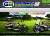 Golf and Bush Car SA's website