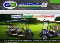 Golf and Bush Car SA's website