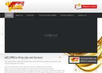 Afriq Lube Lubricants's website