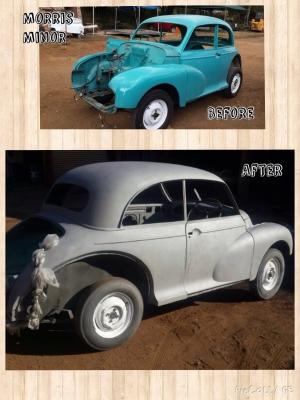 Classic Car Sandblasting Cost