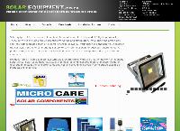 Solar Equipment's website