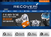 Recoveri Tag Whats Yours's website