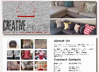 Creative Upholstery (Pty) Ltd's website
