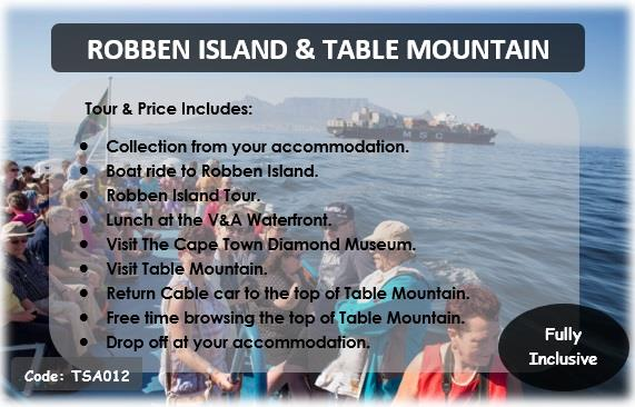 Touring south africa cape town cylex profile - Robben island and table mountain tour ...