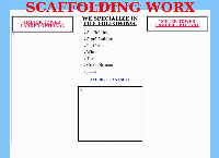 Scaffolding & Steel Ladder Worx's website