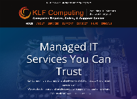 KLF Computing- Computer Repairs, Sales & Support Company's website