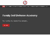 Family Self Defense Academy's website